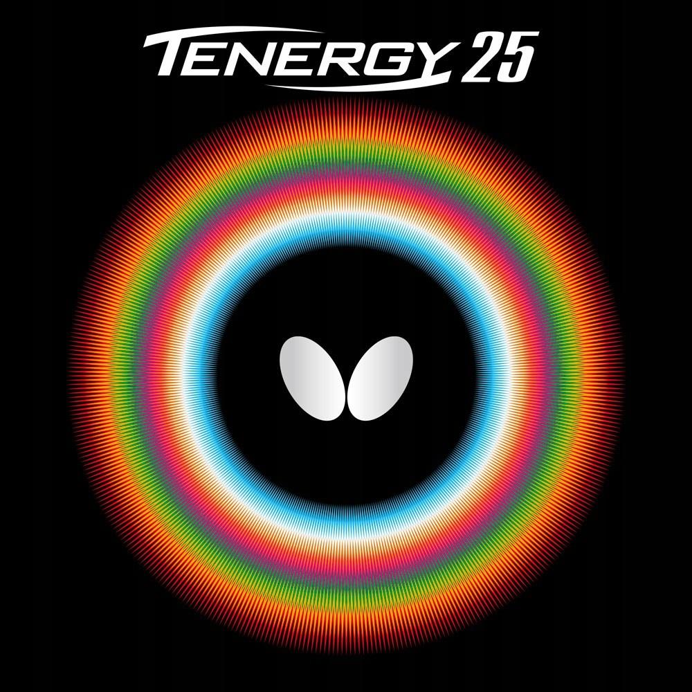 Купить накладка гладкая BUTTERFLY Tenergy 25 BLACK 2.1 на Otpravka - цены и фото - доставка из Польши и стран Европы в Украину.