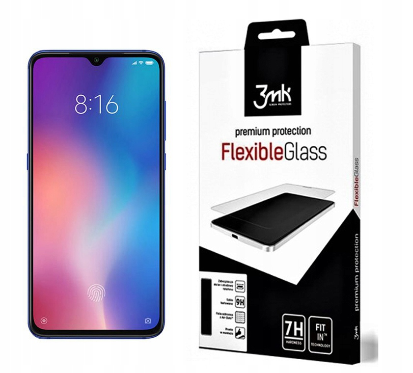 3MK Szkło FlexibleGlass Xiaomi Mi9