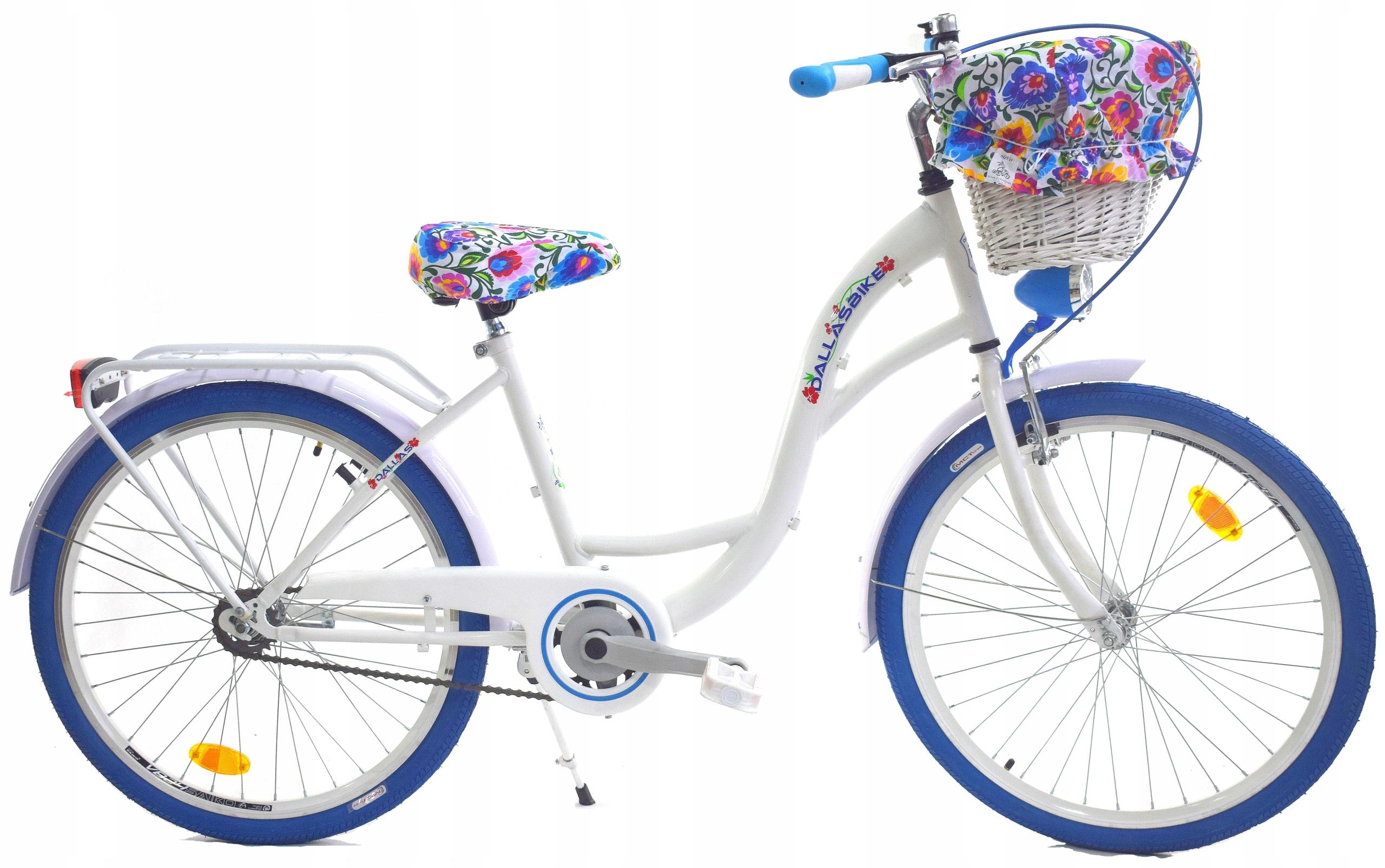 Rower Miejski 24 Dla Dziewczynki Dallas Na Komunie 7672725160 Allegro Pl