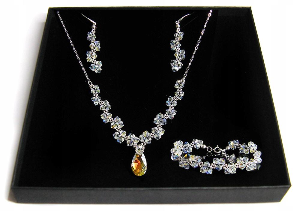 Svadobné šperky s kryštálmi Swarovski CRYSTAL AB