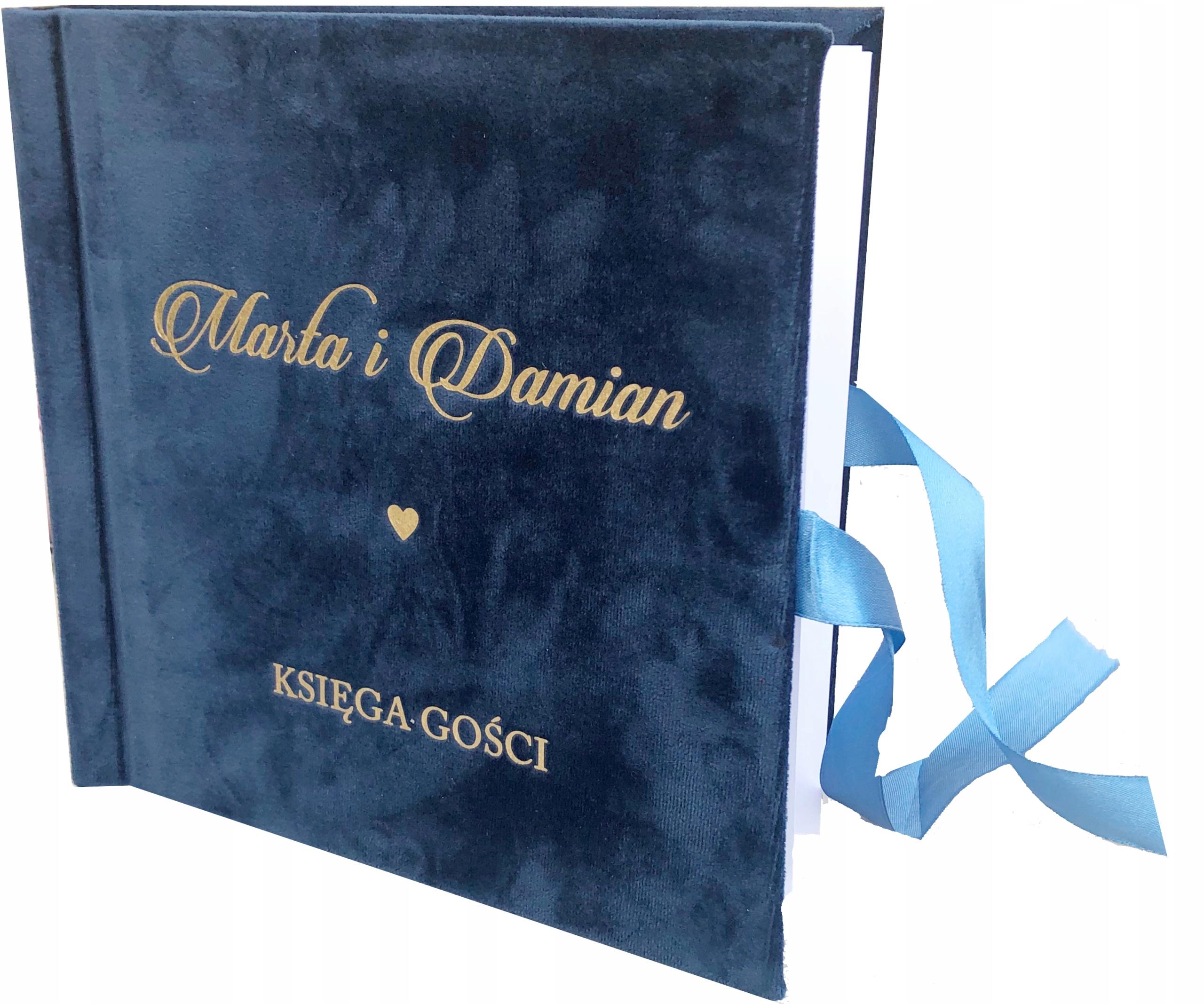 Купить Гостевая книга NAVY GOLD INSCRIPTIONS велюр на Otpravka - цены и фото - доставка из Польши и стран Европы в Украину.