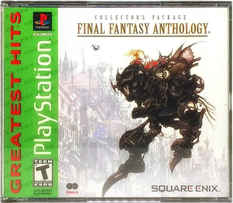 Final Fantasy Antológia Nový Film 2CD PSX FFV+VI