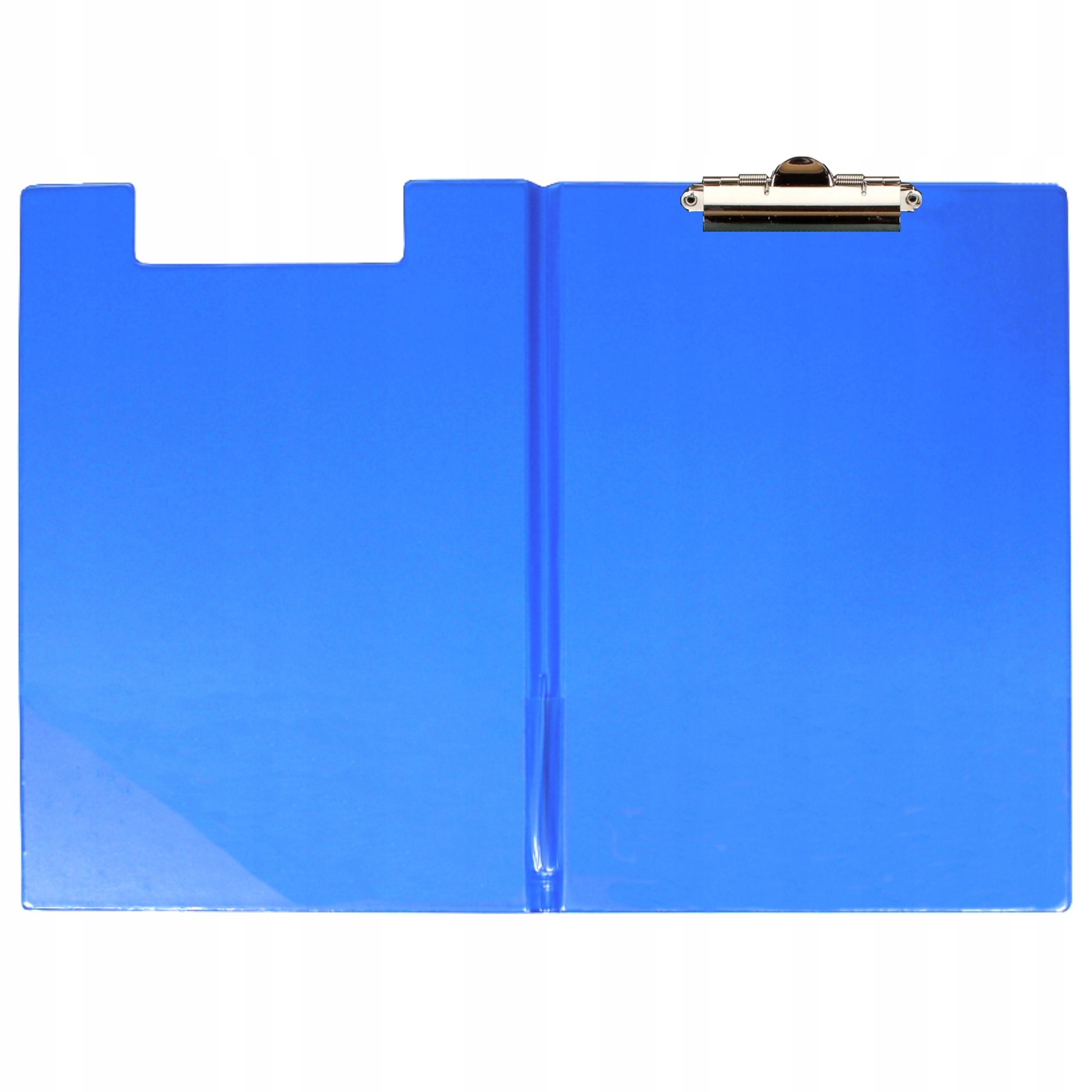 Podložka s klipom zatvorená PVC A4 BLUE
