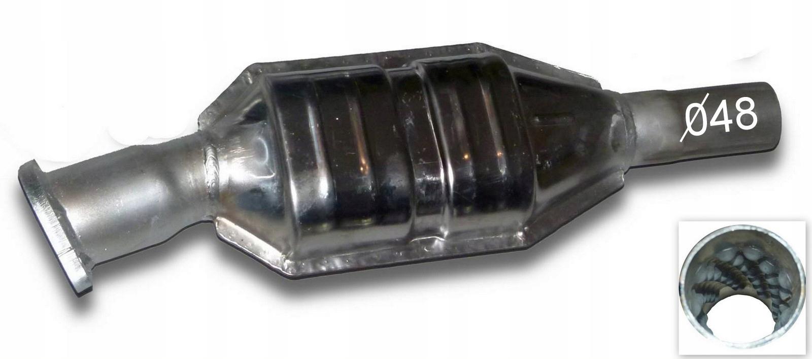 strumienica катализатор volvo s40 v40 16 18