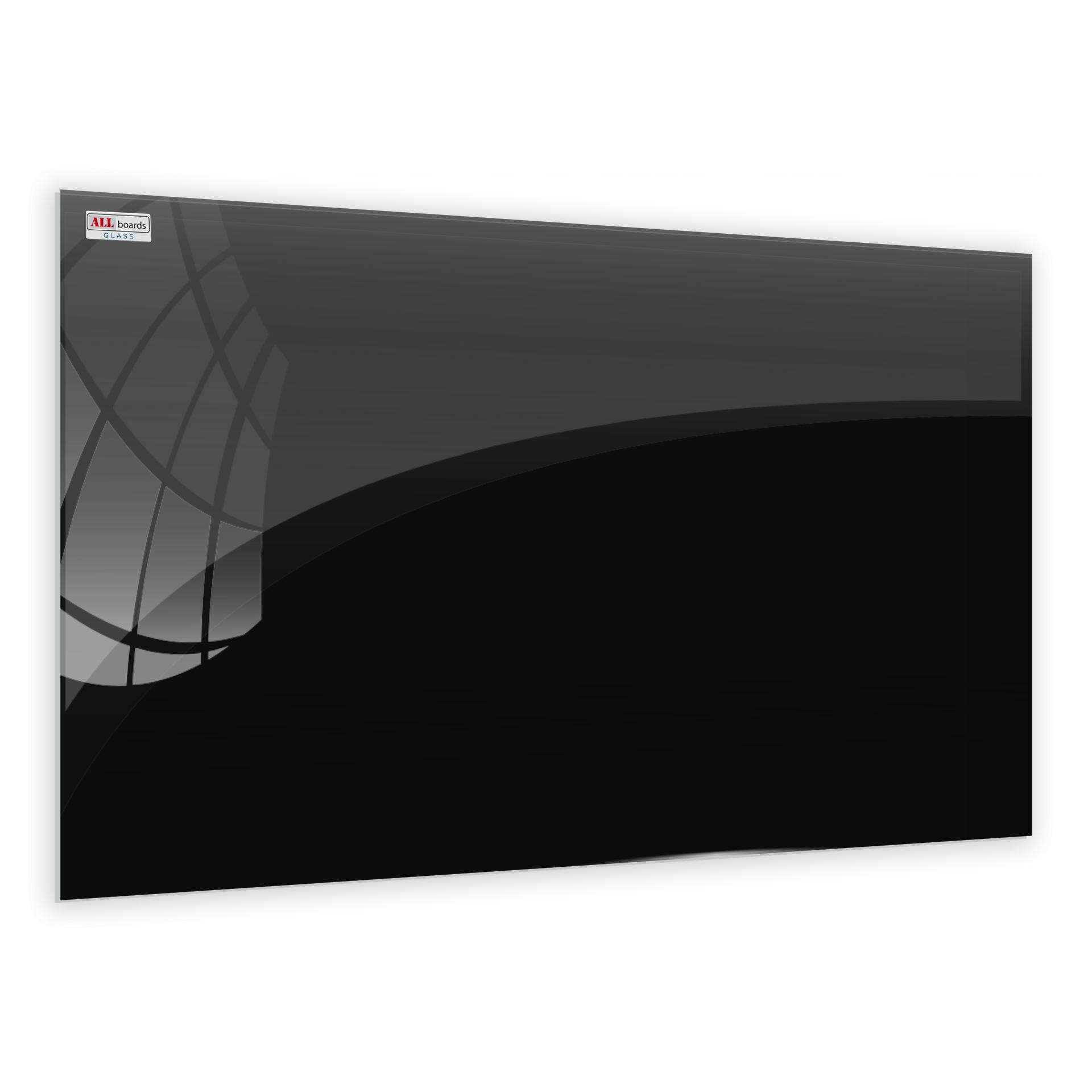 Magnetická sklenená tabuľa ČIERNA 90x60 + ZDARMA Kód produktu TS90x60BK
