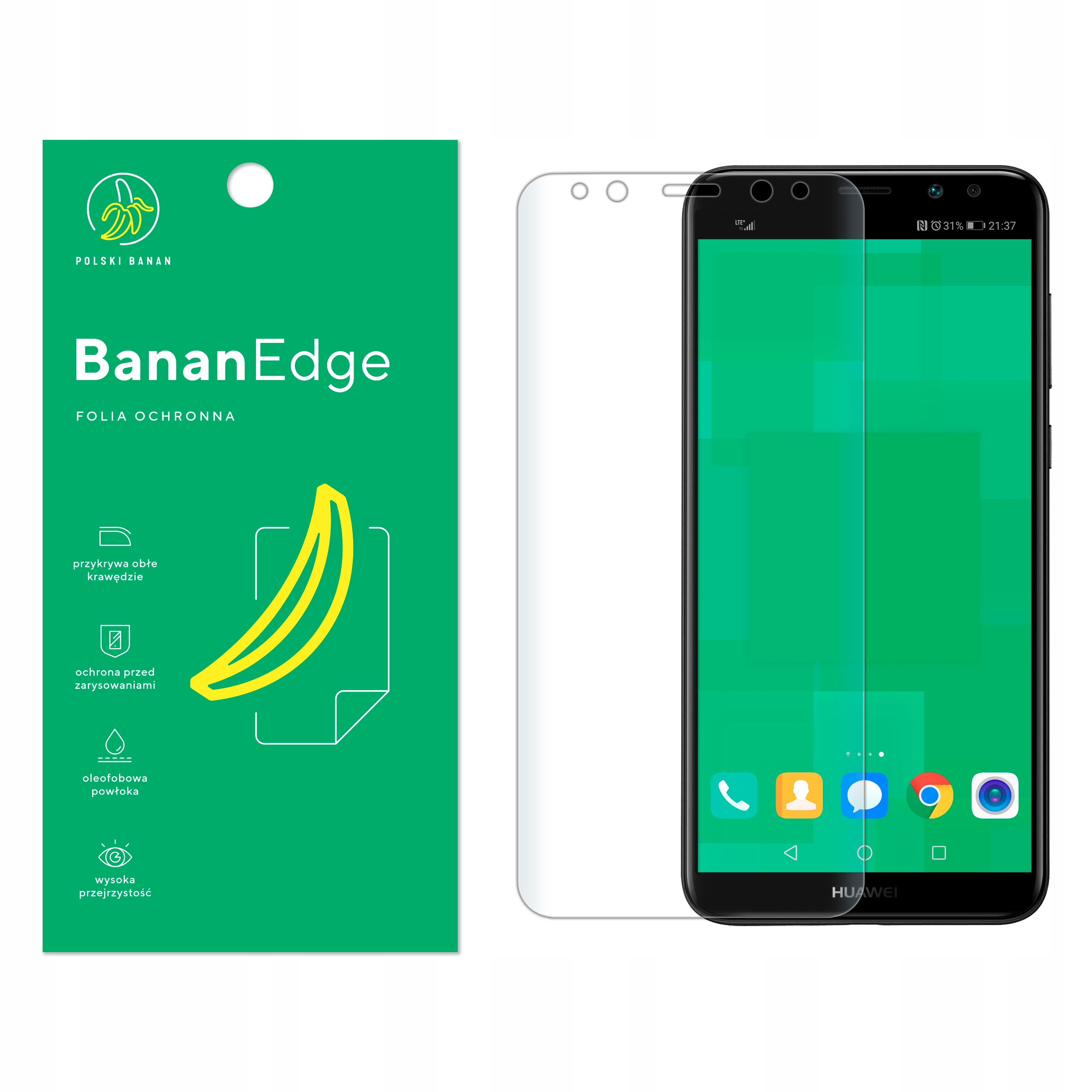 Folia Ochronna Polski Banan do Huawei Mate 10 Lite