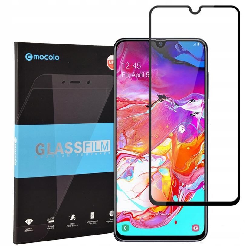 Szkło hartowane Mocolo Tg+ do Galaxy A70, Fg, 9H