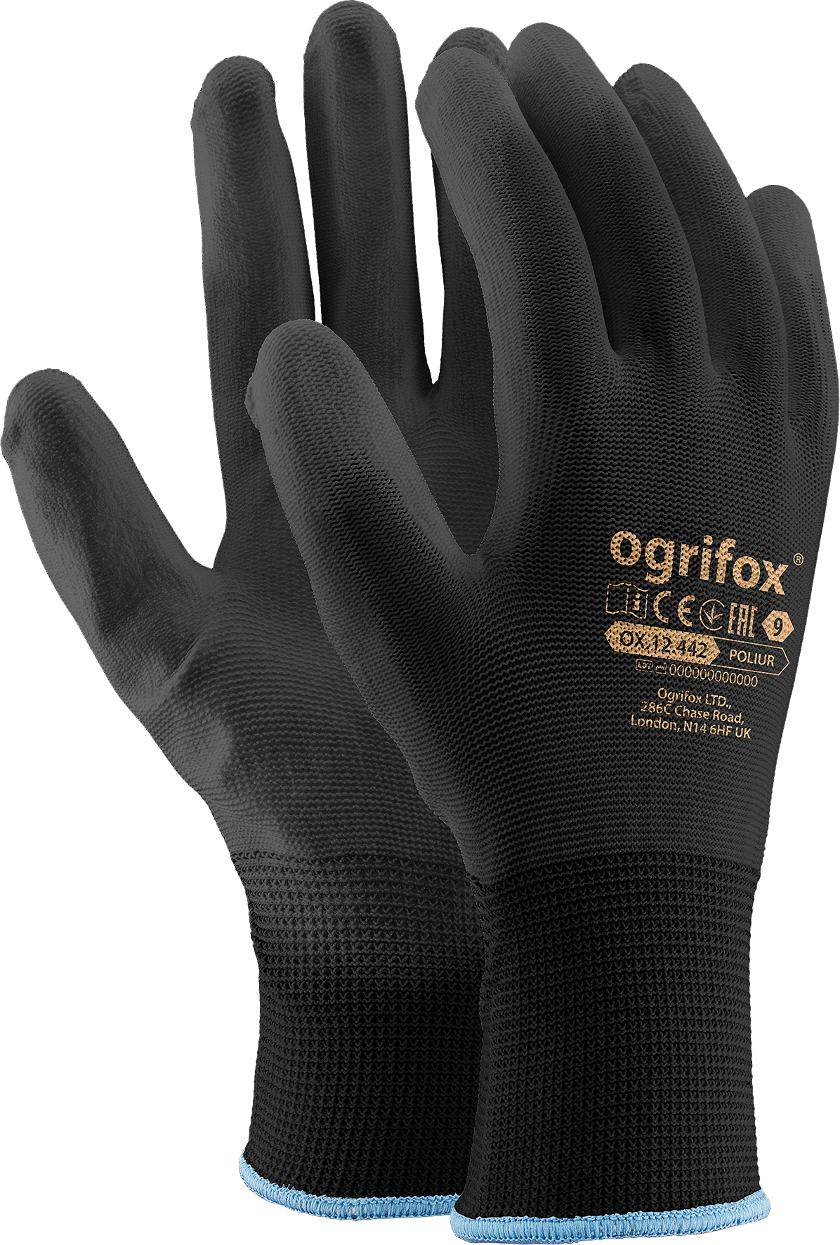 Перчатки Precision Work Gloves Manual 9