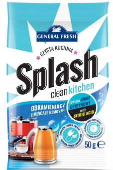 GENERAL FRESH SPLASH Odkamieniacz do Ekspresu 50g