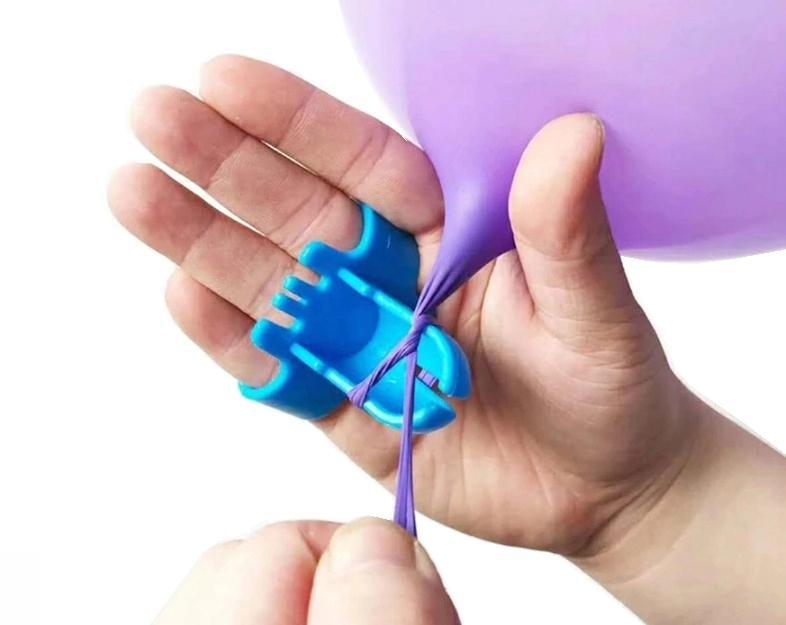 Wiązadełko i problem wiązania balonów zażegnany