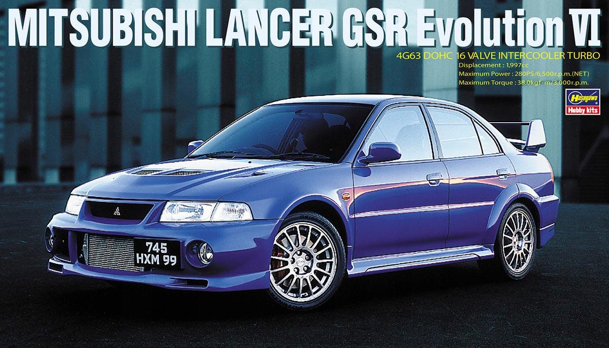 Hasegawa 20336 Mitsubishi Lancer Gsr Evo Vi 1 24 8902569135 Allegro Pl