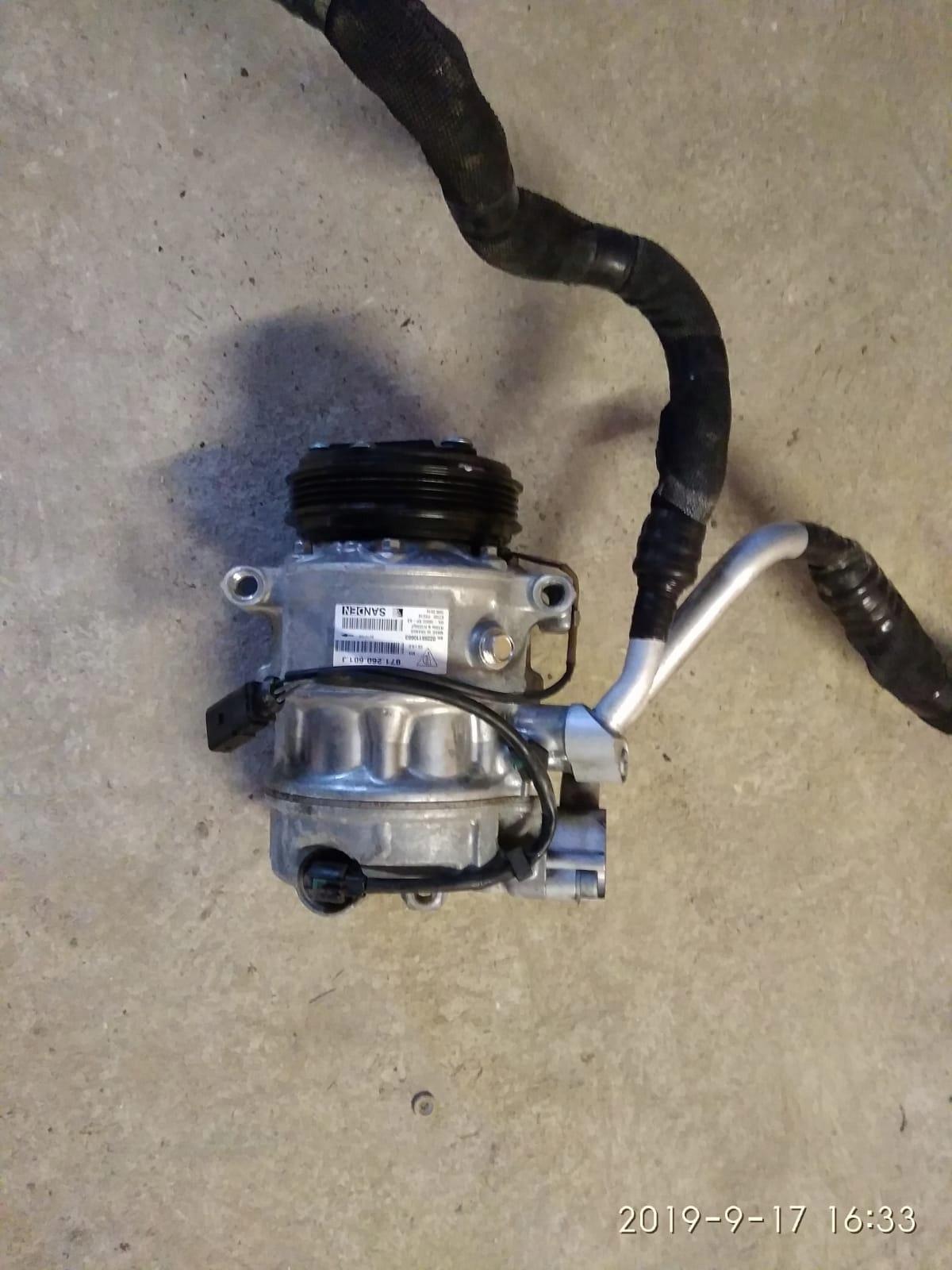 компрессор кондиционирования воздуха porsche panamera 971 40d