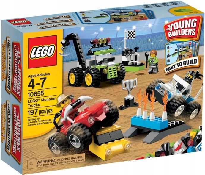 Lego Monster Trucks 10655