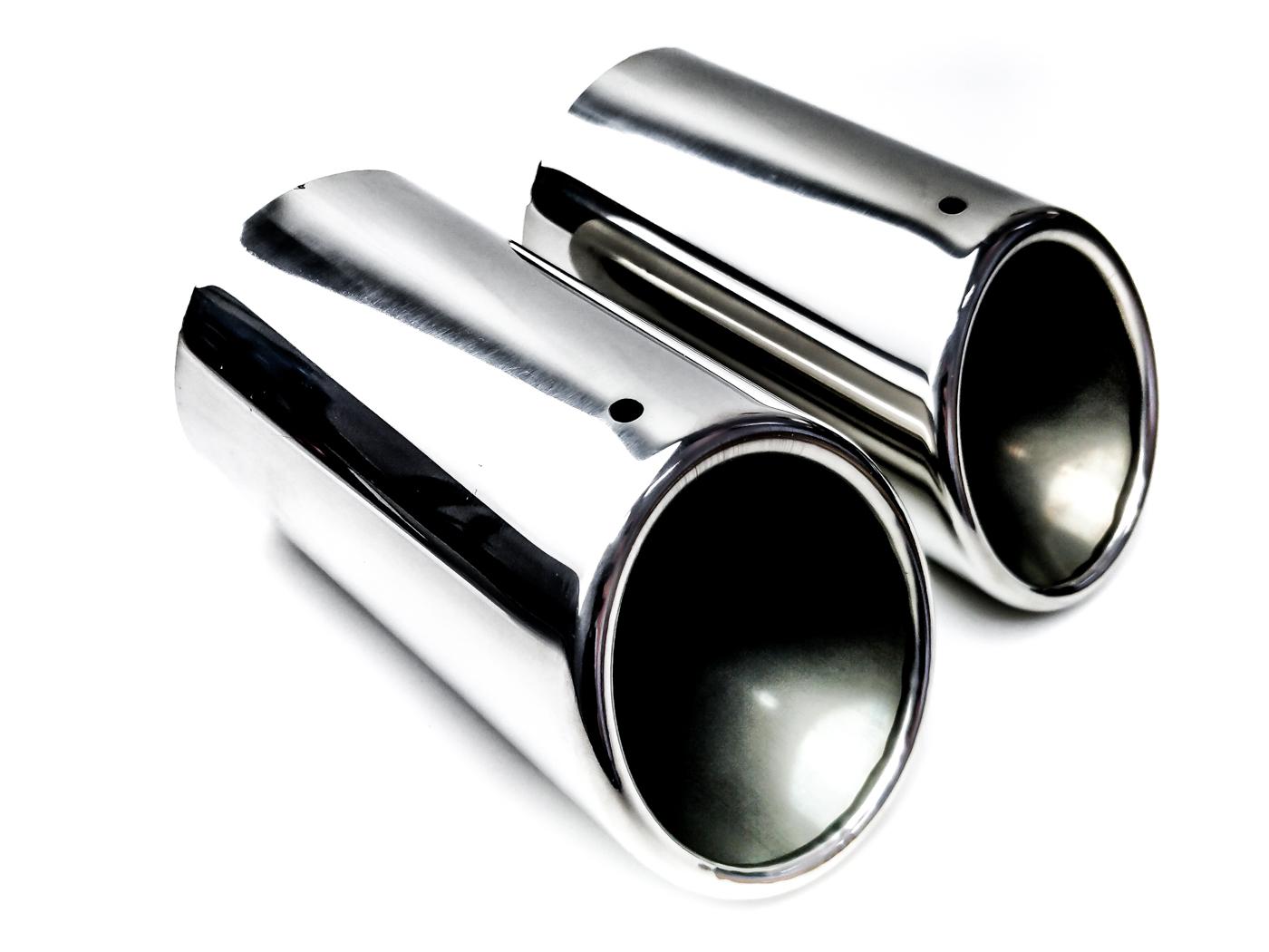 2x наконечники выдохе накладки диаметр 68 69 70mm