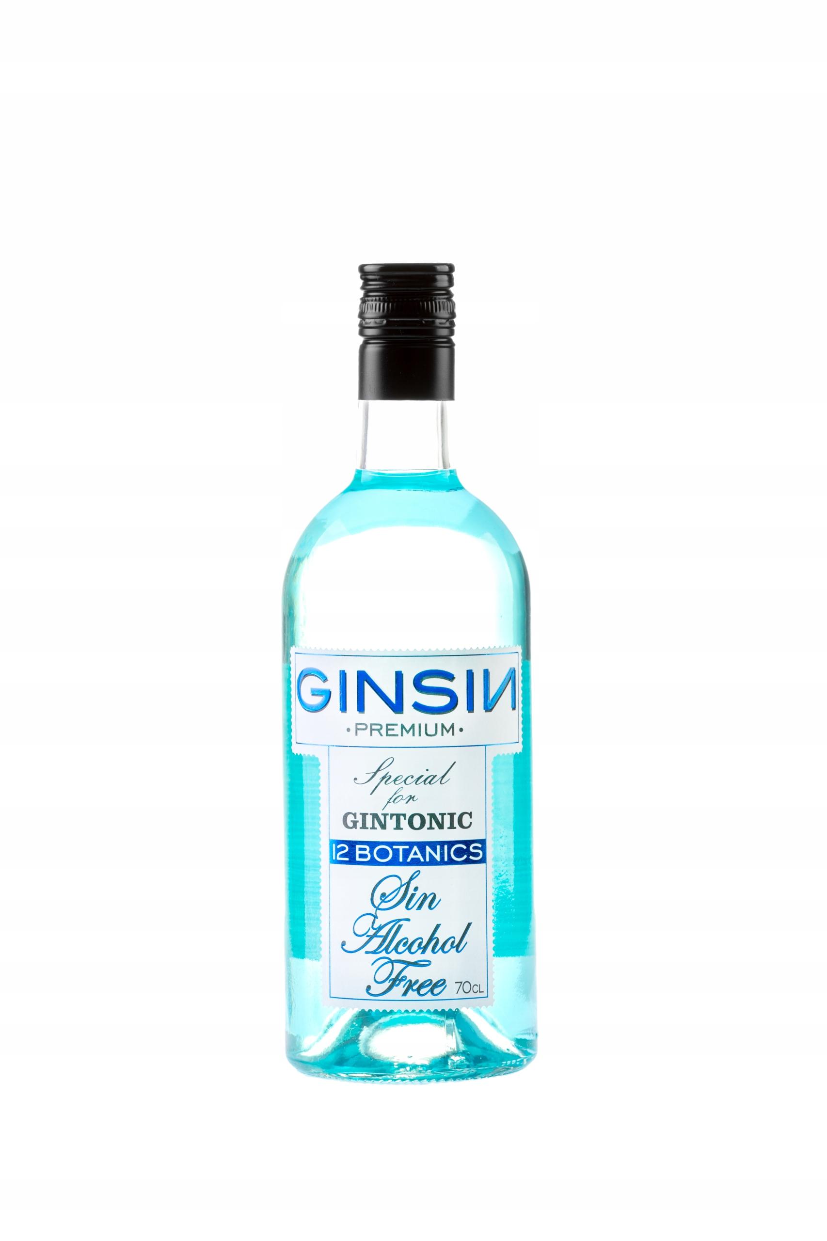 Gin nealkoholické 0% 12 byliny