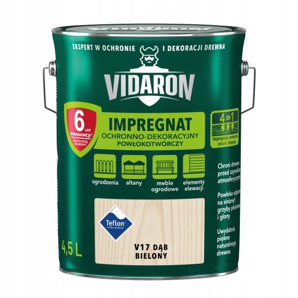 VIDARON Импрегнат декоративный 4.5 L Беленый Дуб