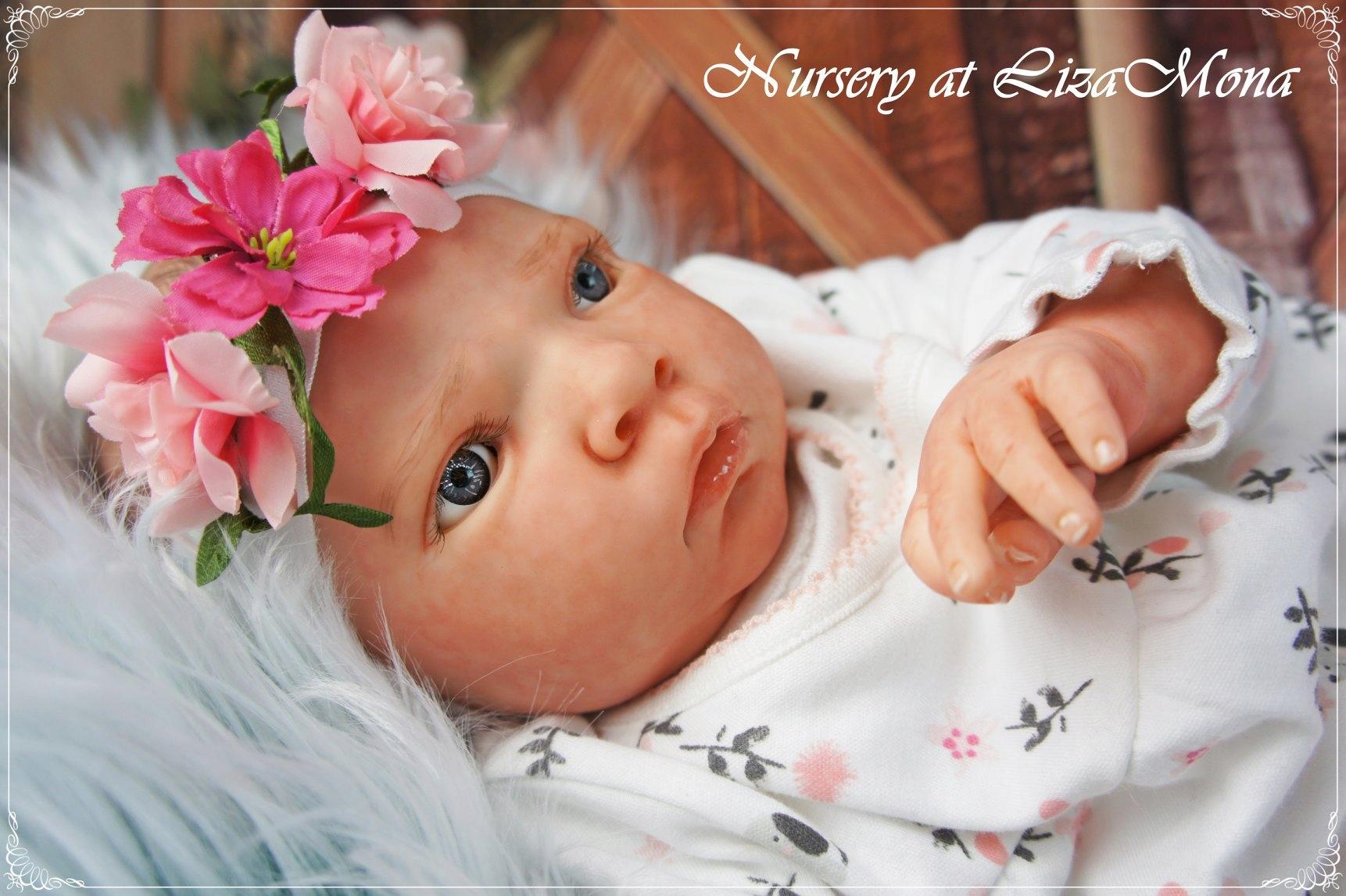 CAMILLA, REBORN bábika, (nie) skutočné dieťa