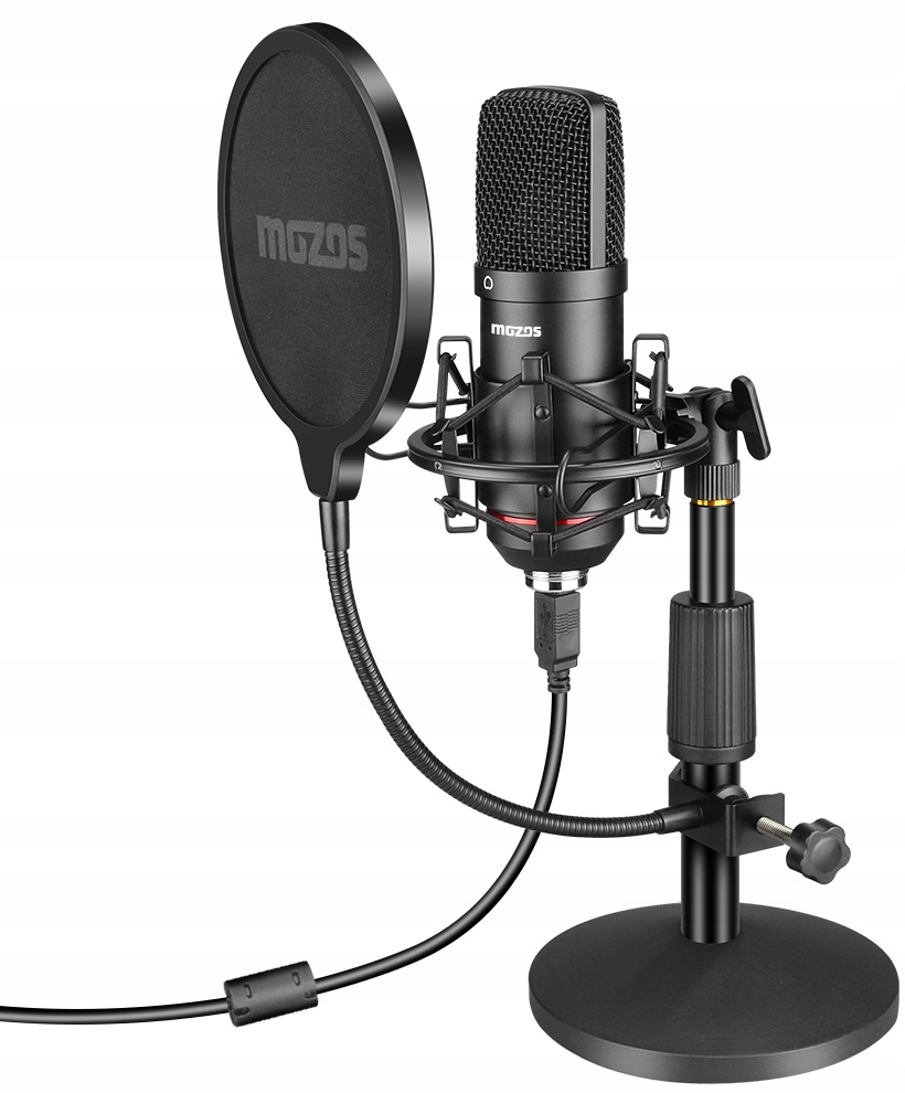Item CONDENSER MICROPHONE USB MOZOS MKIT-900PRO GAMER