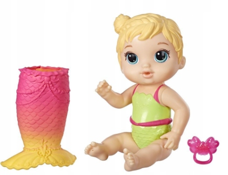 BABY ALIVE MIRROR BLOND DOLL E5850