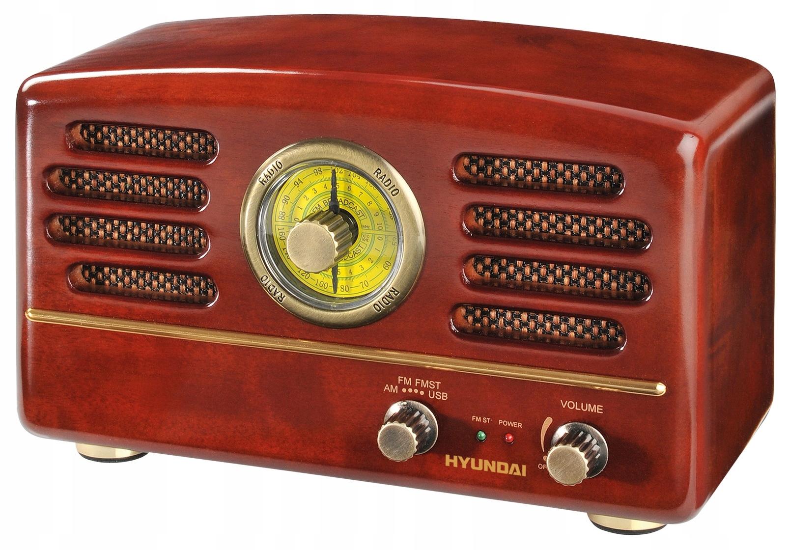 RÁDIO HYUNDAI DREVENÉ RETRO FM/AM TUNER RA202C