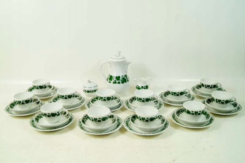 Item The MEISSEN MEISSEN SERVICE FOR 12 people coffee Royal