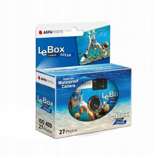 Jednorazový AGFA Lebox oceán vodotesný 27
