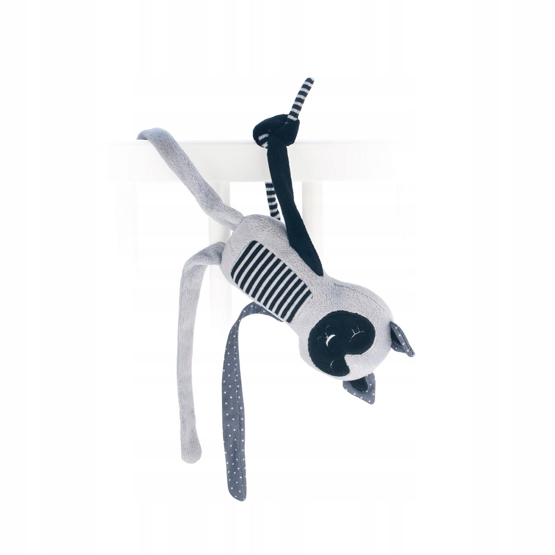 Canpol Pluszowa przytulanka śpiący lemur 0+ JUNGLE Kod producenta 68/059_grey