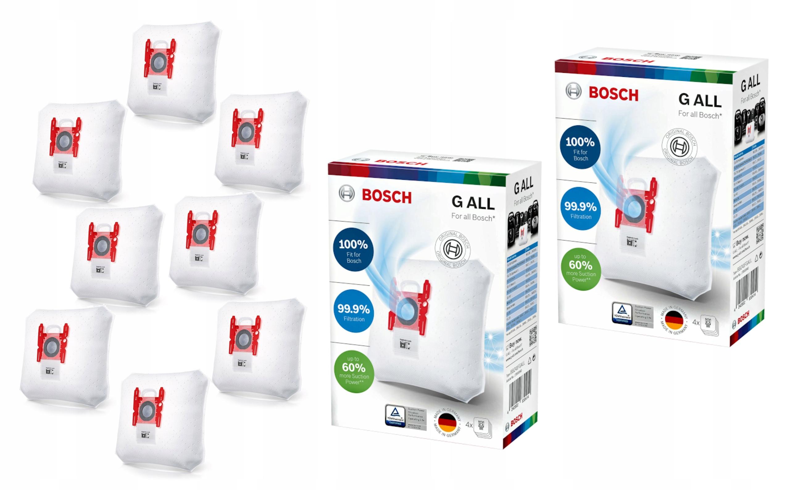 Vrecká do vysávačov Bosch G ALL BBZ41FGALL 8ks