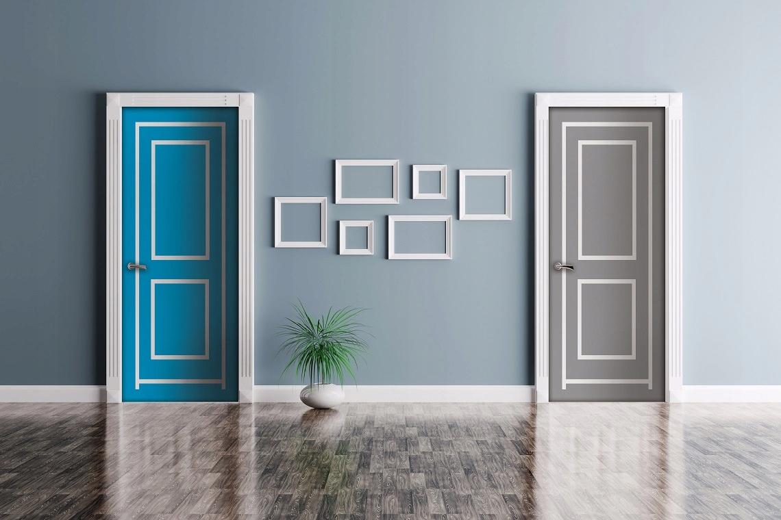 Drzwi tymczasowe na czas remontu, kurtyna LP80-100 8999451419 - Allegro.pl