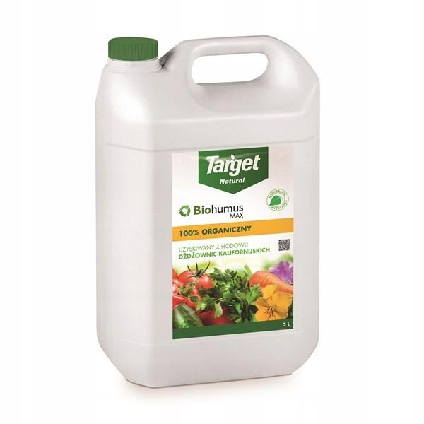 Biohumus Max 5l naturalny środek organiczny TARGET