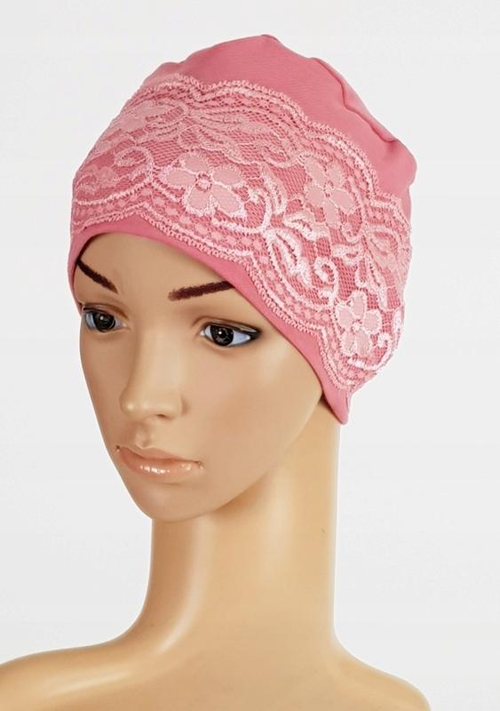 Купить шапка  КРУЖЕВО разные ЦВЕТА TURBANY Eva ДИЗАЙН на Eurozakup - цены и фото - доставка из Польши и стран Европы в Украину.