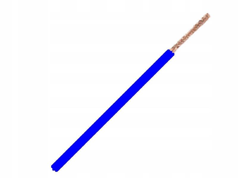 кабель кабель flry-b 1x1 5mm 1 5mm2 синий 5m