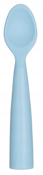 MINIKOIOI Łyżeczka silikonowa niebieska