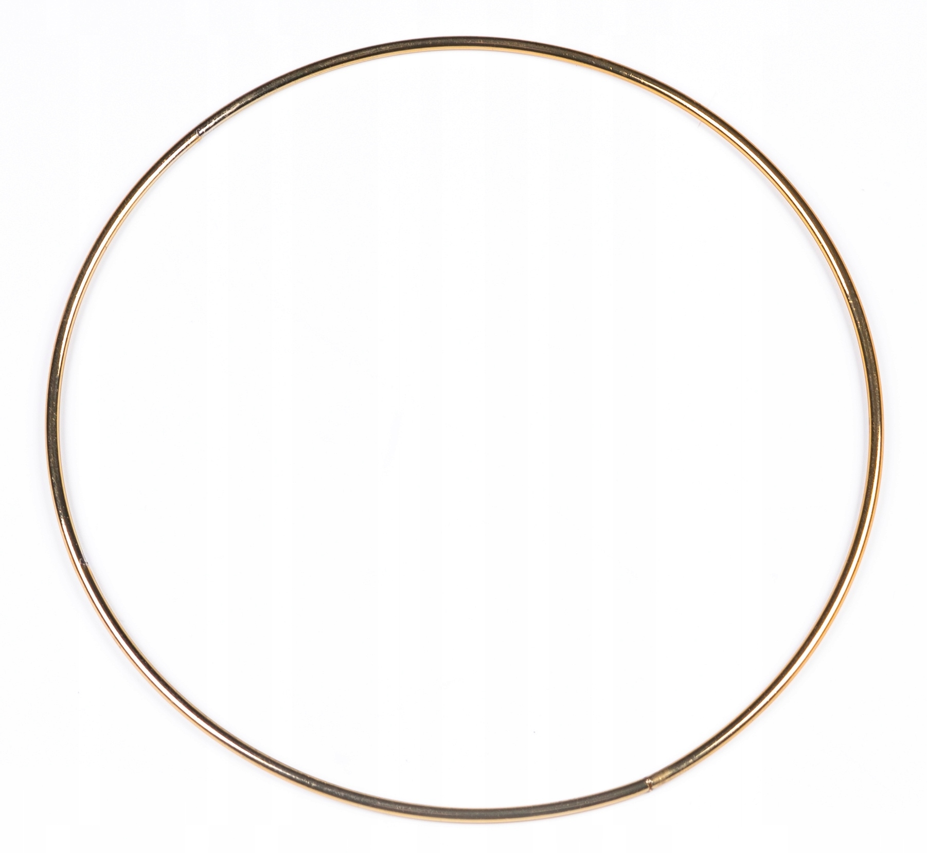 """Item GOLD metal Hoop again and again to the catcher"""", 50 cm"""
