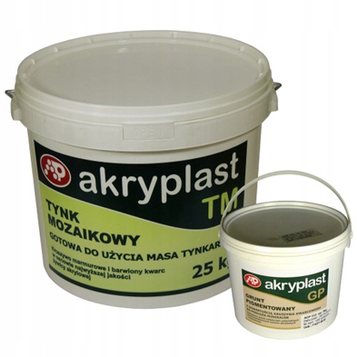 NOWOŚĆ tynk mozaikowy z miką 5kg+grunt kolor 0.5kg