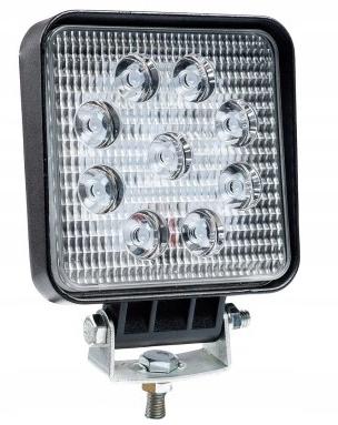 лампа рабочая галоген 9-led 27w 12-24v прожектора