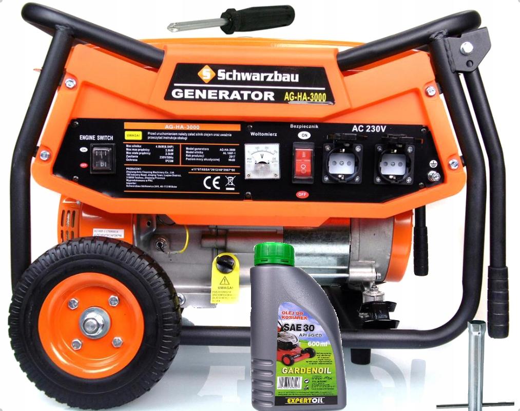 AGREGAT PRĄDOTWÓRCZY AG-HA3000 generator prądu AVR