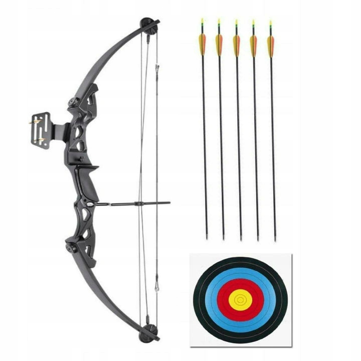 BLOCK COBRA PROTEX BLACK 55Ibs + 5x Arrow + T