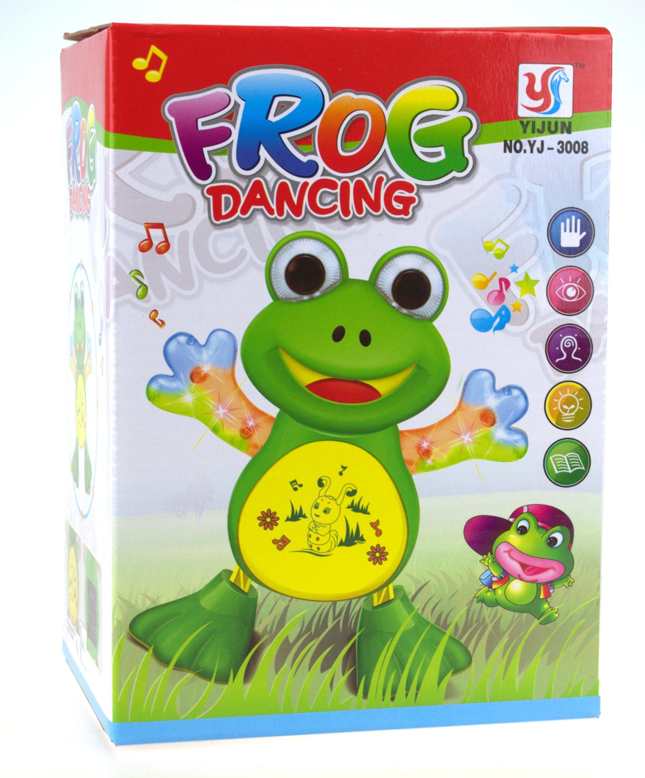 Vzdelávacia interaktívna batéria žaba