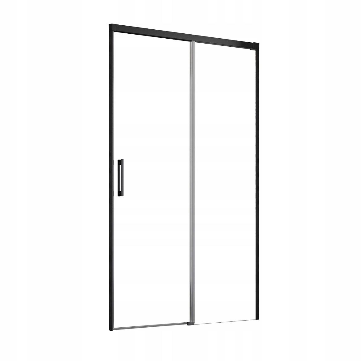 Idea Black DWJ 130x200,5 čierne dvere RADAWAY