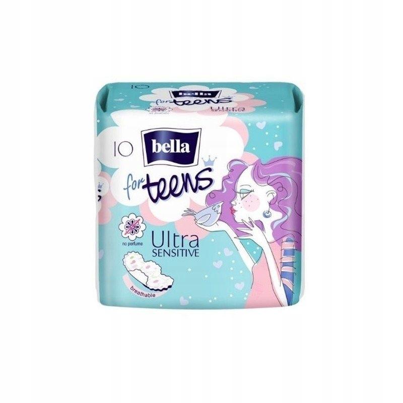 Bella For Teens Ultra Sensitive гигиенические прокладки 10 шт