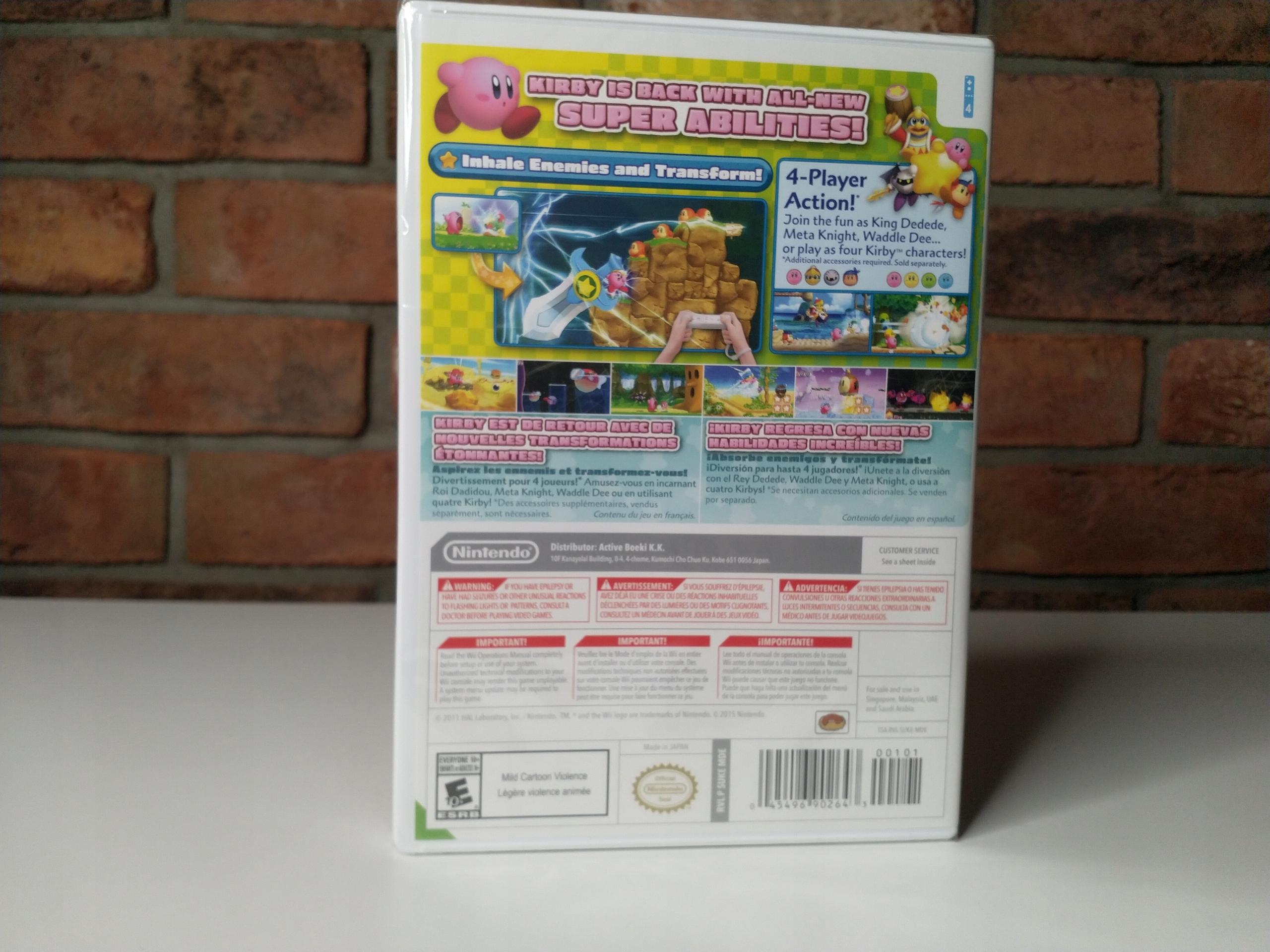 Купить Кирби's Return to Dream Land Nintendo Wii Пленка US на Otpravka - цены и фото - доставка из Польши и стран Европы в Украину.
