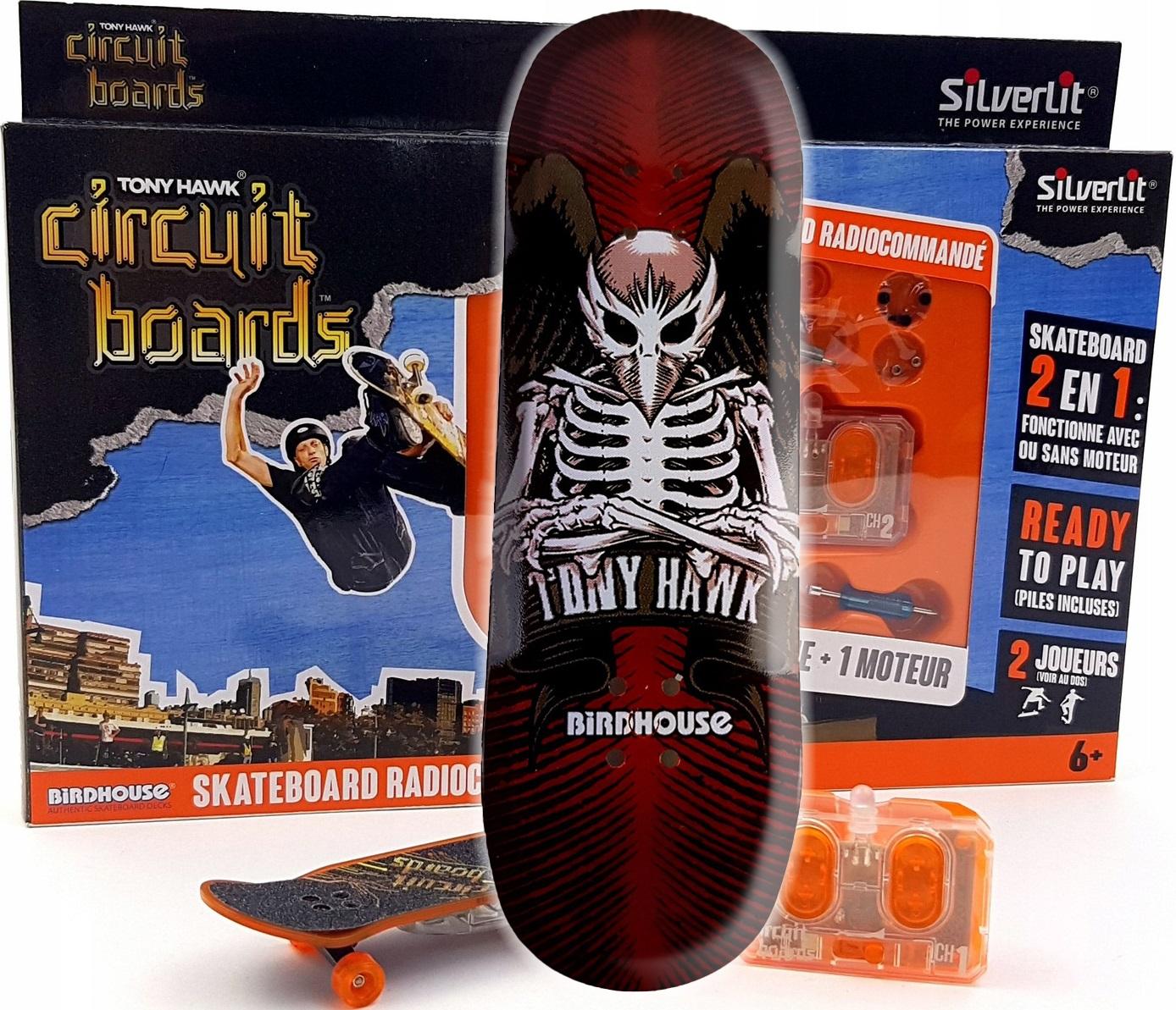 Fingerboard Skateboard RC - Diaľkové ovládanie