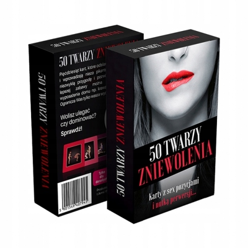 Item 50 SHADES OF ENSLAVEMENT HOT EROTIC GAME FOR COUPLES