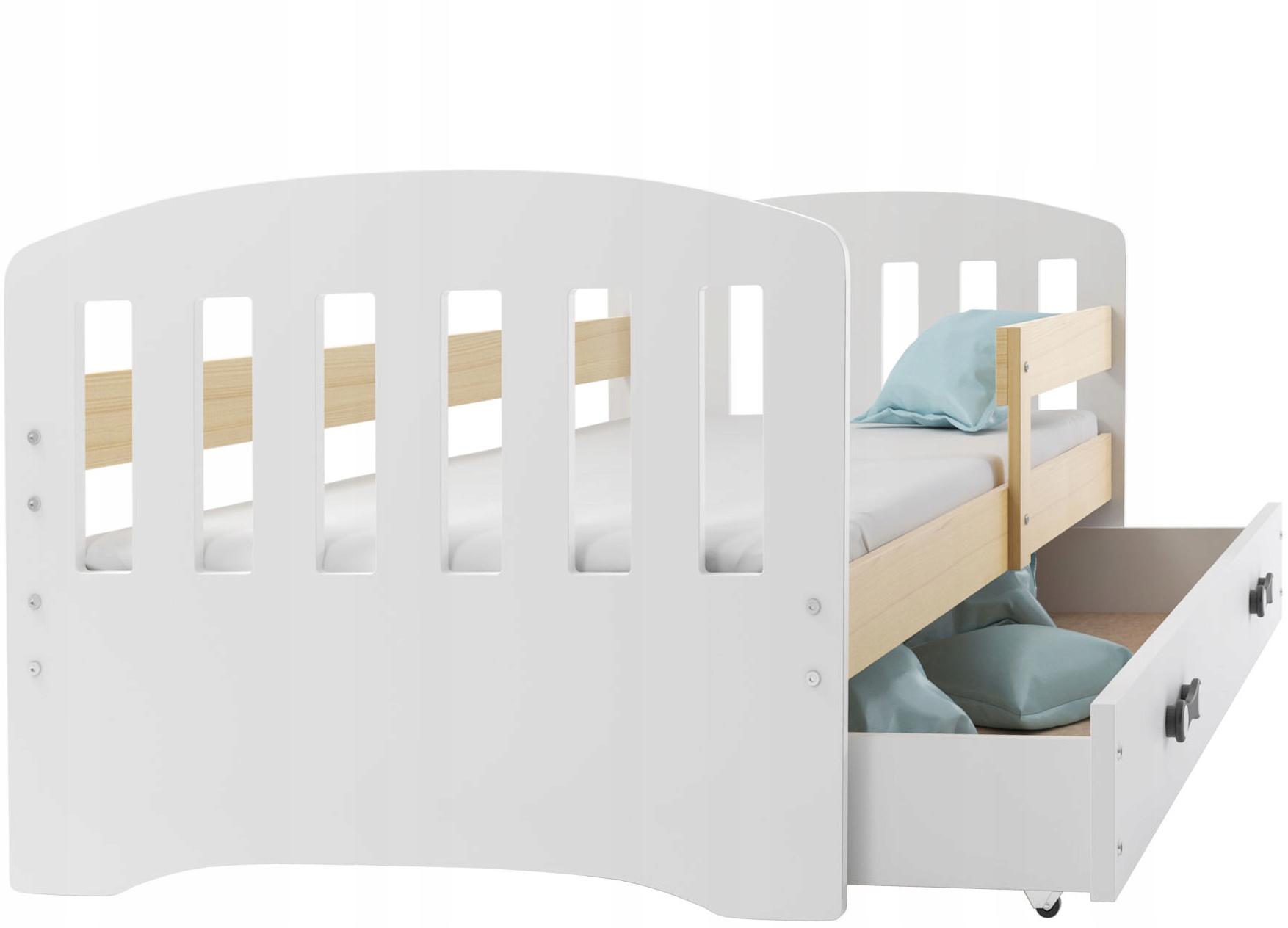 кровать HAPPY 160x80 одноэтажные детское + ящик