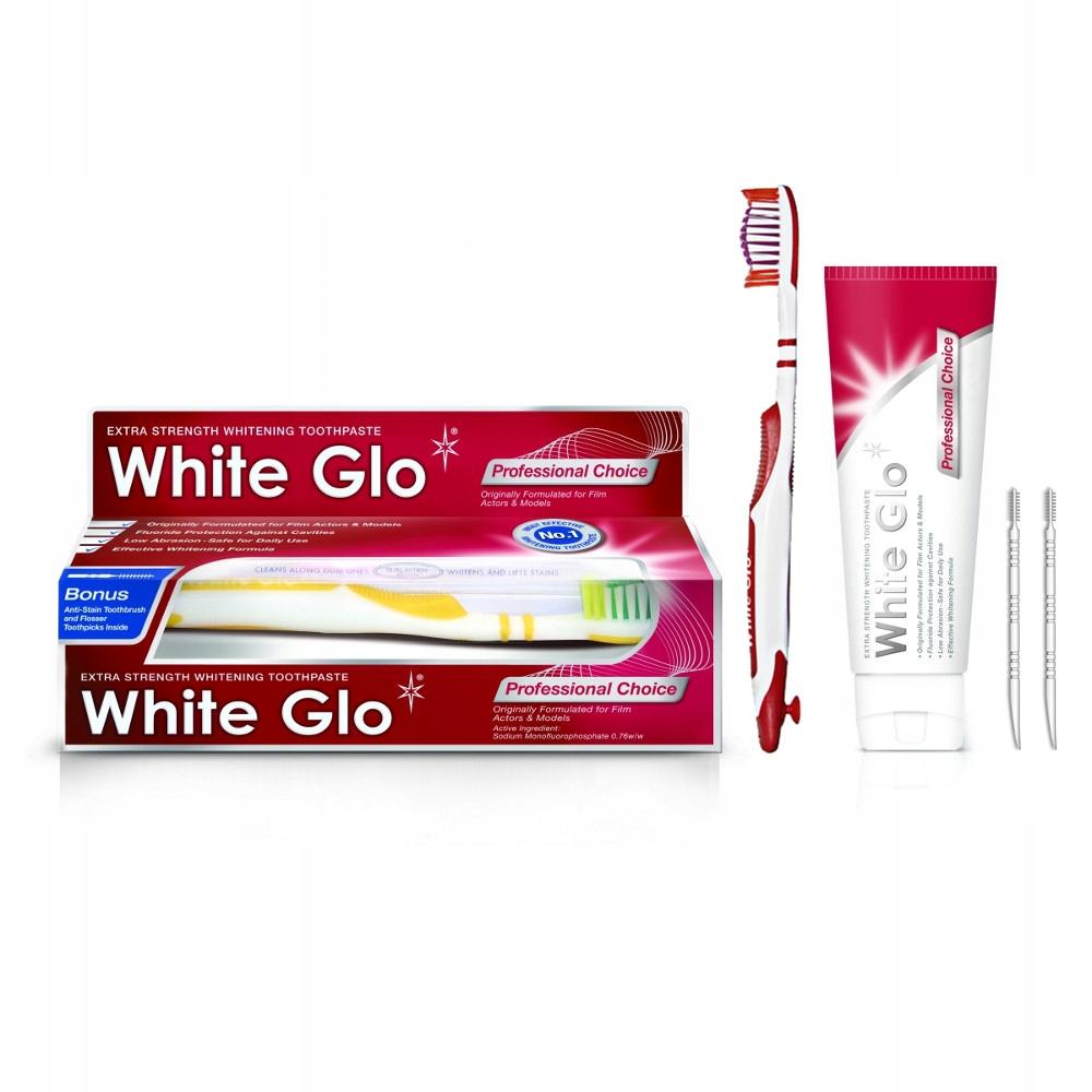 White Glo профессиональное паста отбеливающая для зубов