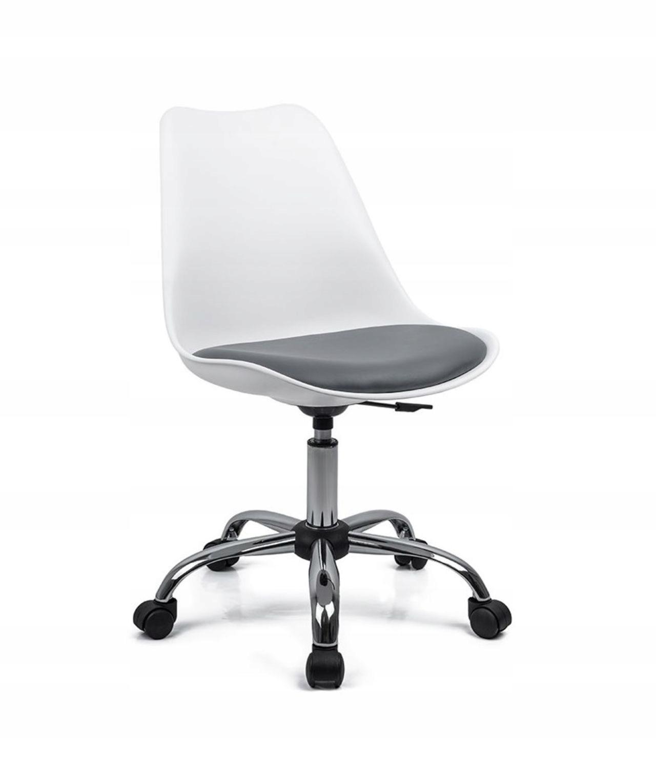 Stolička stolička otočná OFFICE QZY-402C Biela