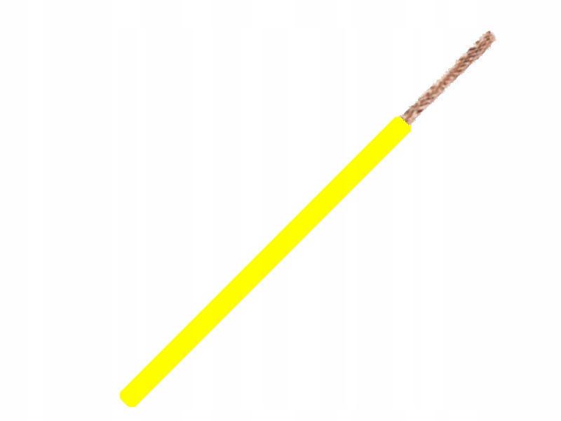 кабель кабель flry-b 1x1 0mm 1mm2 Желтый 5m