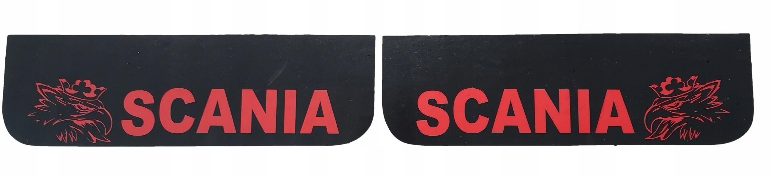 Фартук с брызговиками SCANIA logo ЦЕНА ДЛЯ 2 ШТ.