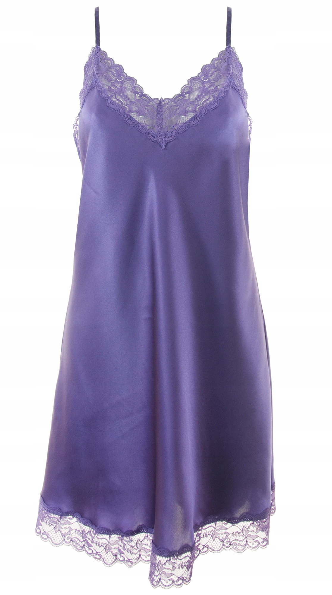 Intimissimi koszula nocna fioletowa jedwab M